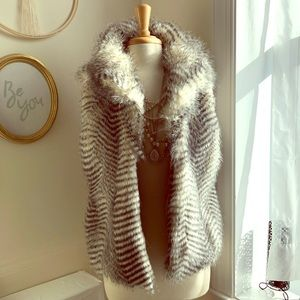 Jack faux fur vest from Urban Outfitters